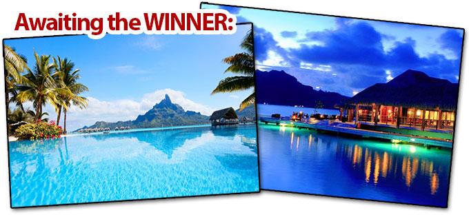 7 Days in Bora Bora (For 2) OR $5,000