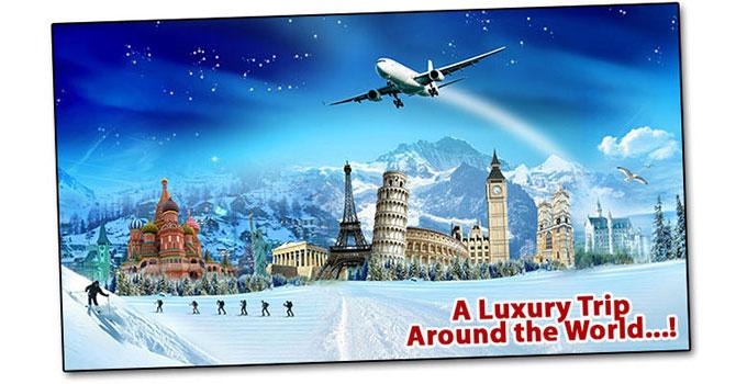 Airfare Around the World OR $2,000