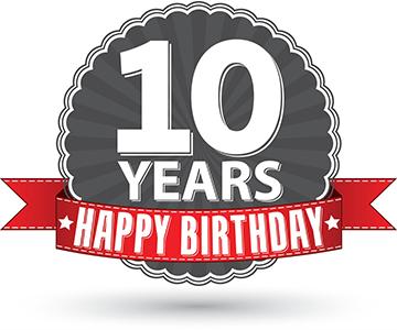Spin Rewriter's 10th birthday