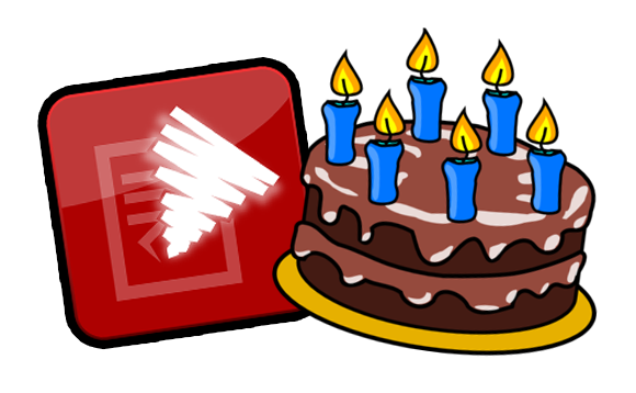 Spin Rewriter 6th birthday