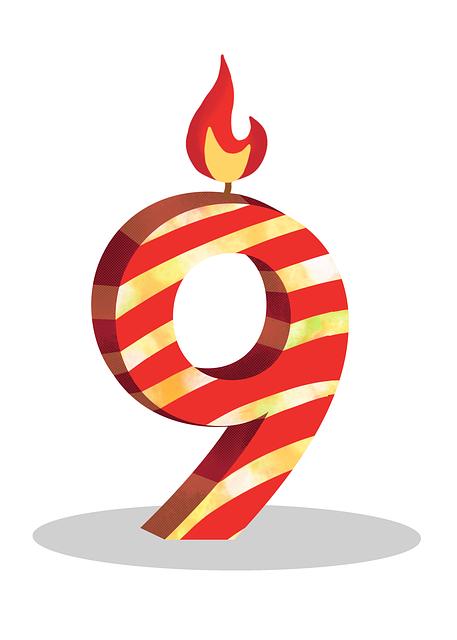 Spin Rewriter's 9th birthday