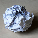My Crumpled Ball of Paper...