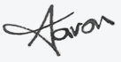 Aaron Sustar - signature